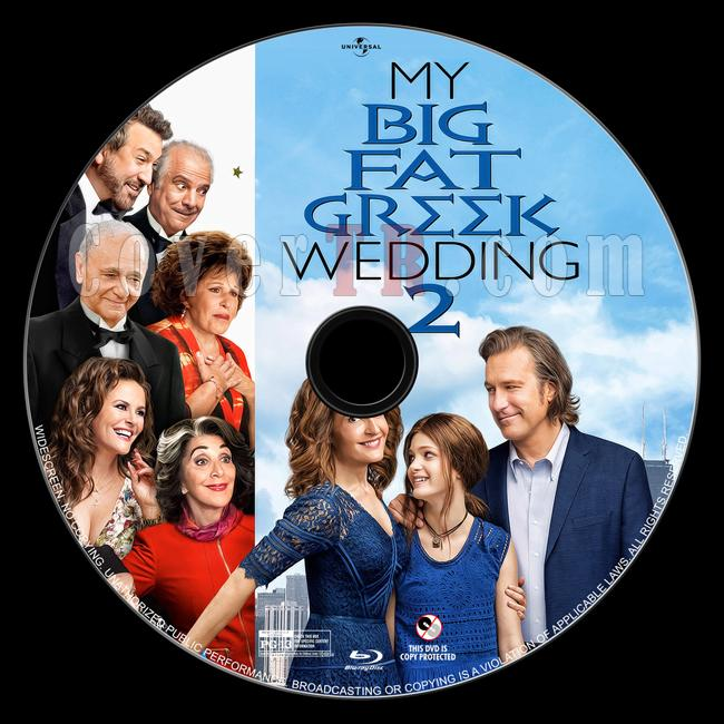 My Big Fat Greek Wedding 2 - Custom Bluray Label - English [2016]-4jpg