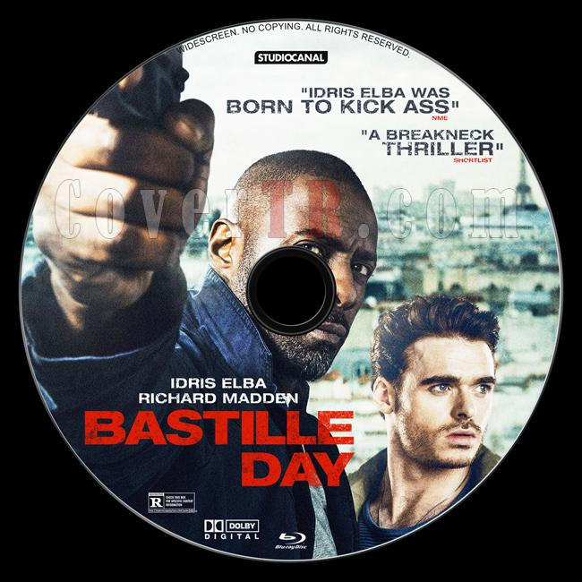 Bastille Day - Custom Bluray Label - English [2016]-1jpg
