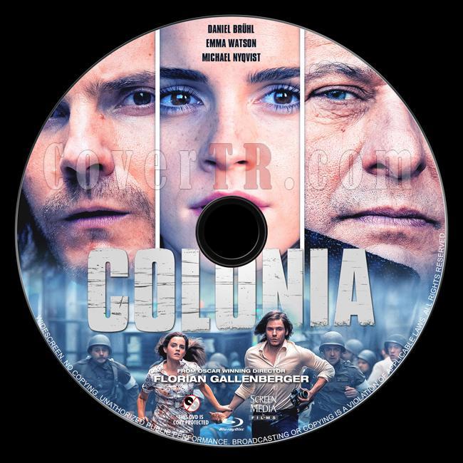 Colonia - Custom Bluray Label - English [2015]-1jpg