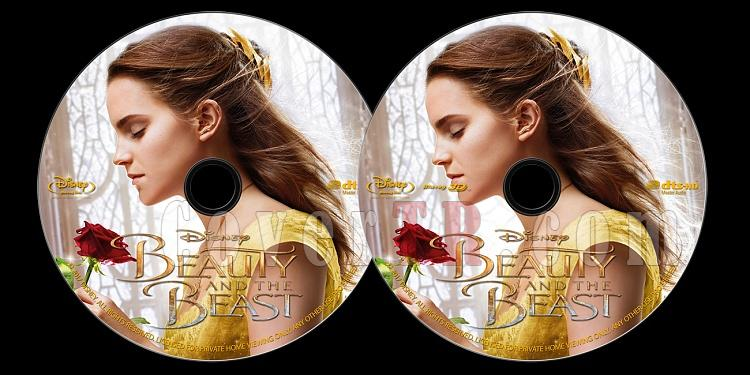 Beauty and the Beast (Güzel ve Çirkin) - Custom Bluray Label - English [2017]-onizlemejpg