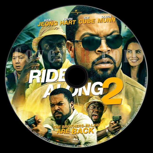 Ride Along 2 - Custom Bluray Label - English [2016]-1jpg