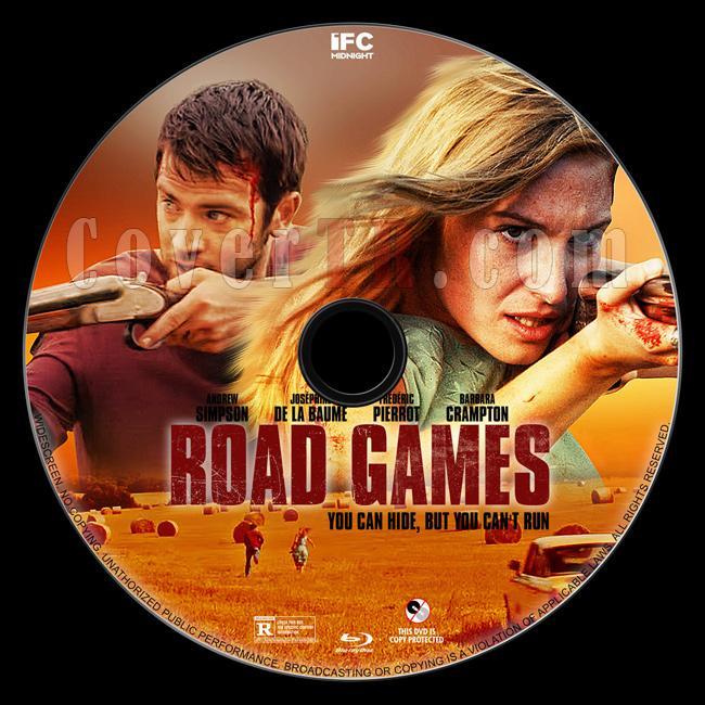 Road Games - Custom Bluray Label - English [2015]-1jpg