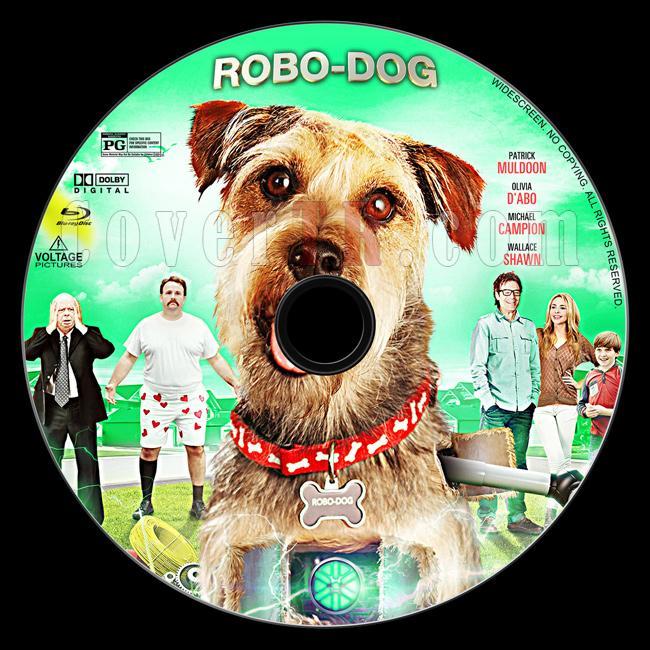 Robo-Dog - Custom Bluray Label - English [2015]-1jpg