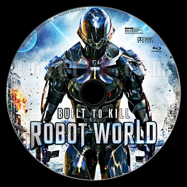 Robot World - Custom Bluray Label - English [2016]-1jpg