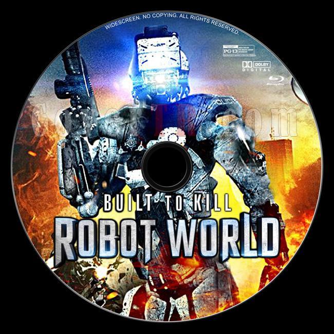 Robot World - Custom Bluray Label - English [2016]-1jpg
