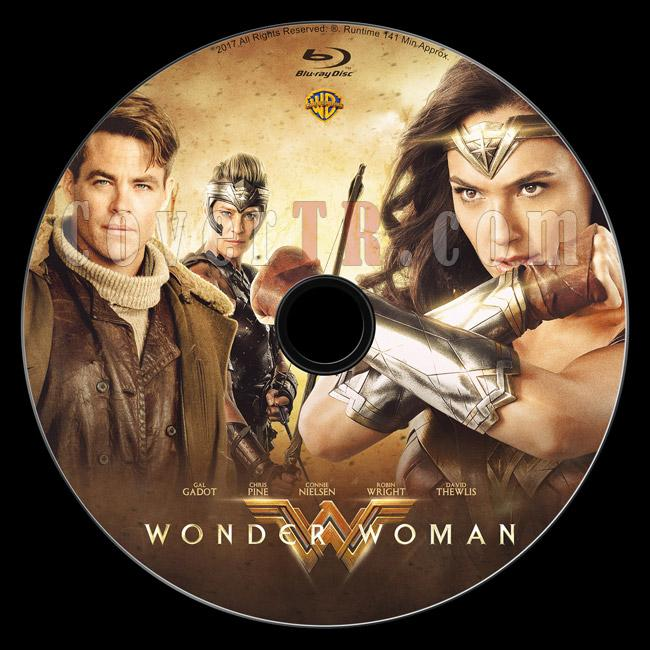 Wonder Woman - Custom Bluray Label - English [2017]-1jpg