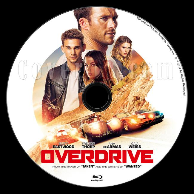 Overdrive (Bas Gaza) - Custom Bluray Label - English [2017]-1jpg
