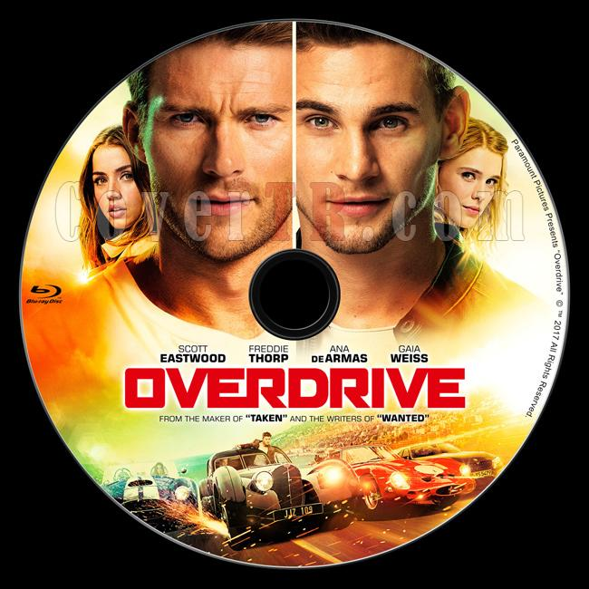 Overdrive (Bas Gaza) - Custom Bluray Label - English [2017]-2jpg