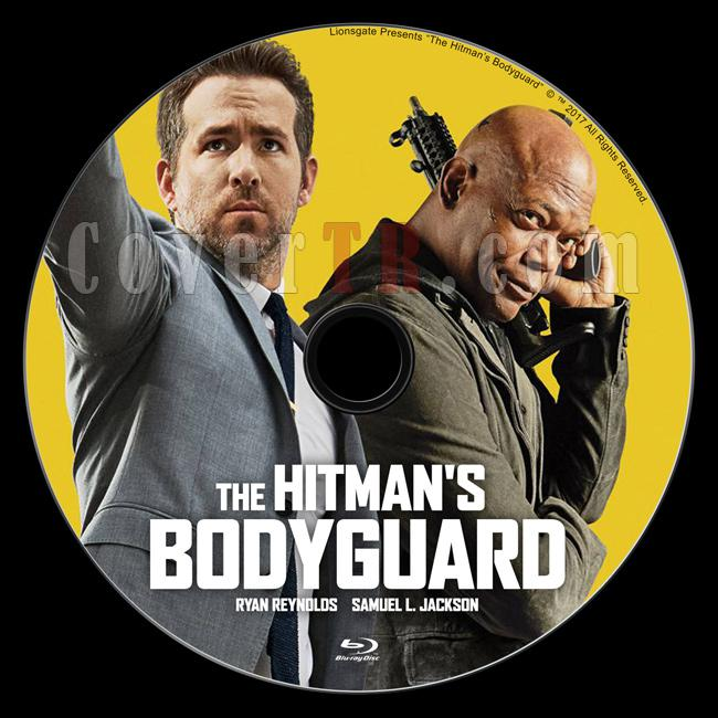 The Hitman's Bodyguard (Belalı Tanık) - Custom Bluray Label - English [2017]-1jpg