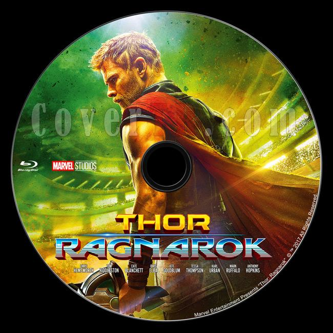 Thor 3: Ragnarok - Custom Bluray Label - English [2017]-br1jpg