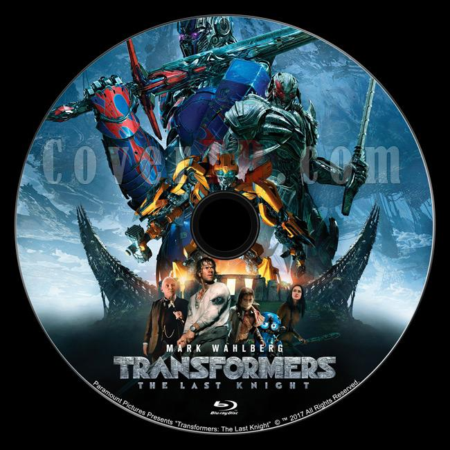 Transformers: The Last Knight (Transformers 5: Son Şövalye) - Custom Bluray Label - English [2017]-transformersthelastknightbluraylabelpreviewjpg