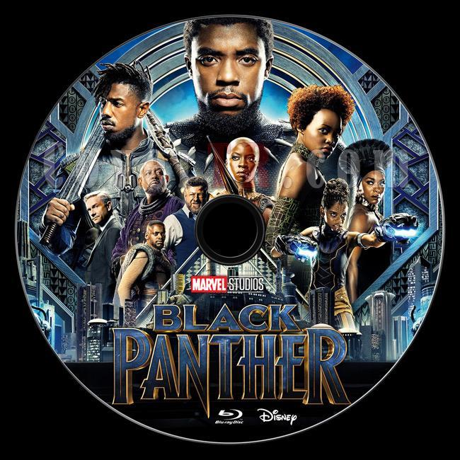 Black Panther - Custom Bluray Label - English [2017]-br1jpg