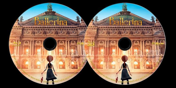 Ballerina (Balerin ve Afacan Mucit) - Custom Bluray Label - English (2016)-onizlemejpg