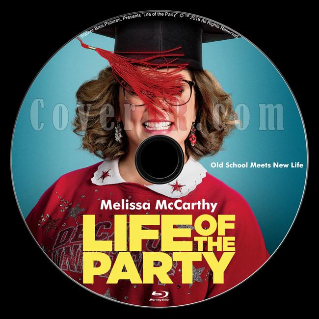 Life of the Party - Custom Bluray Labe - English [2018]-02jpg