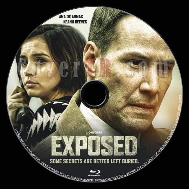 Exposed (Dedektif Galban) - Custom Bluray Label - English [2016]-01jpg
