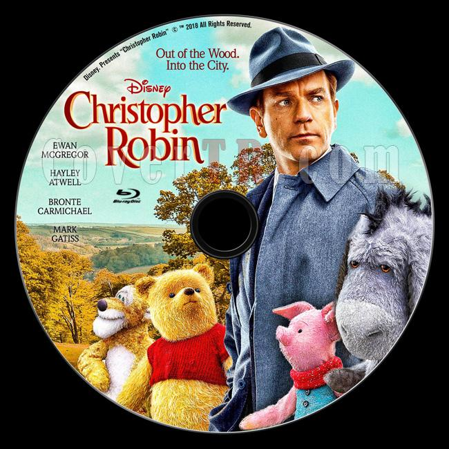 Christopher Robin - Custom Bluray Label - English [2018]-b01jpg