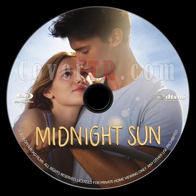 Midnight Sun - Custom Bluray Label - English [2018]-onizlemejpg