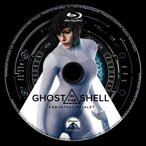 Ghost in the Shell (Kabuktaki Hayalet) - Custom Bluray Label - Türkçe [2017]-labeljpg