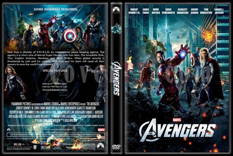 The Avengers (Yenilmezler) - Custom Dvd Cover - English [2012]-avengers-dvd-cover-rd-cd-picjpg