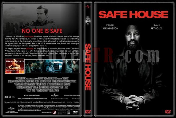 Safe House (Düşmanı Korurken) - Custom Dvd Cover - English [2012]-safe-house-dvd-cover-rd-cd-v-1-picjpg
