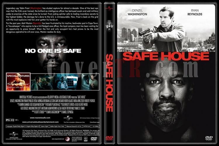 Safe House (Düşmanı Korurken) - Custom Dvd Cover - English [2012]-safe-house-dvd-cover-rd-cd-v-2-picjpg