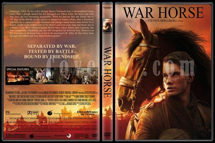 War Horse (Savaş Atı) - Custom Dvd Cover - English [2011/12]-war-horse-dvd-cover-rd-cd-picjpg