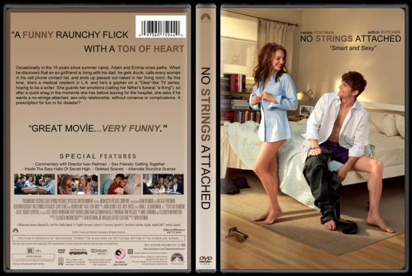 No Strings Attached (Bağlanmak Yok) - Custom Dvd Cover - English [2011]-no-strings-attached-izlemejpg