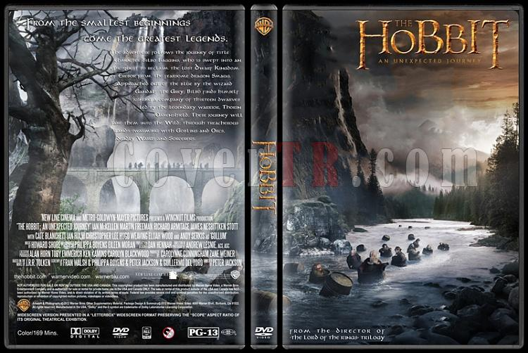 The Hobbit: An Unexpected Journey (Hobbit: Beklenmedik Yolculuk) - Custom Dvd Cover - English [2012]-hobbit-unexpected-journey-dvd-cover-rd-cd-v1-picjpg