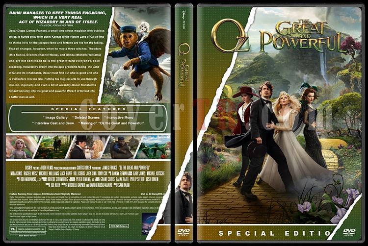 Oz the Great and Powerful (Muhtesem ve Kudretli Oz) - Custom Dvd Cover - English [2013]-oz-izlemejpg