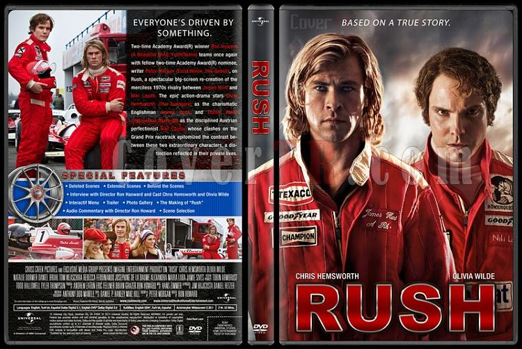 Rush (Zafere Hücum) - Custom Dvd Cover - English [2013]-engjpg