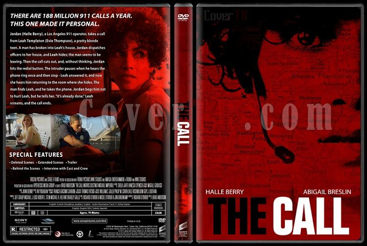 The Call (Acil Arama) - Custom Dvd Cover - English [2013]-call-engjpg
