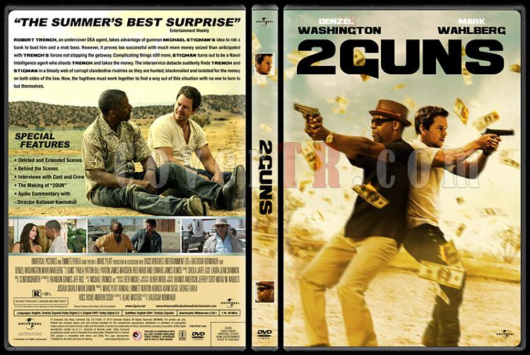 2 Guns (Zorlu İkili) - Custom Dvd Cover - English [2013]-engjpg