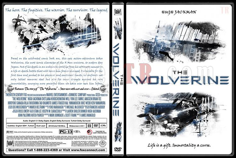 The Wolverine - Custom Dvd Cover - English [2013]-wolverine-dvd-cover-picjpg