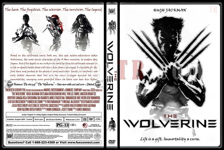 The Wolverine - Custom Dvd Cover - English [2013]-wolverinejpg