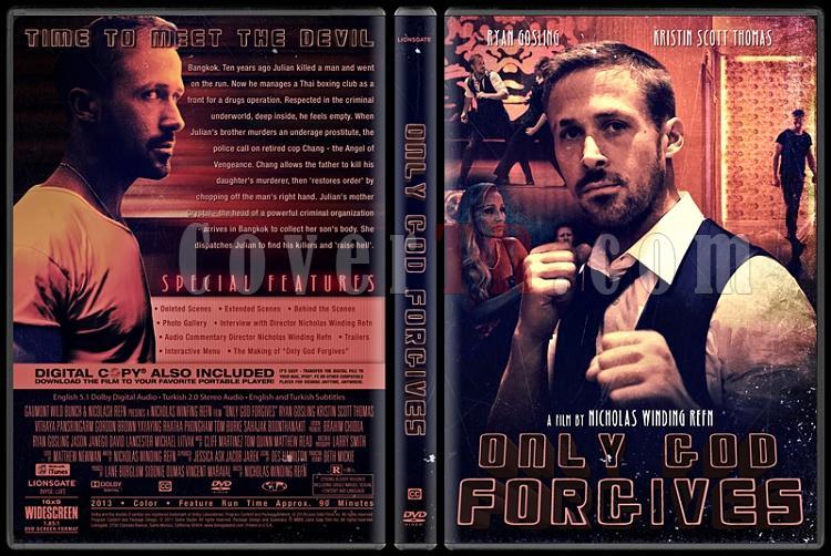 Only God Forgives (Sadece Tanrı Affeder) - Custom Dvd Cover - English [2013]-standardjpg