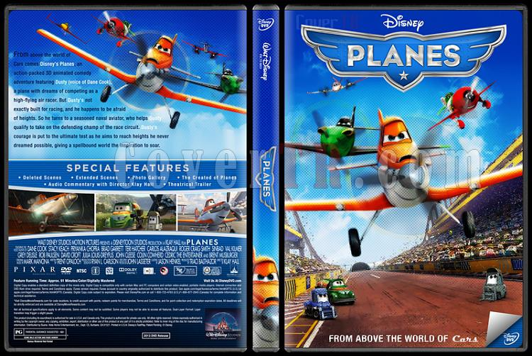 Planes (Uçaklar) - Custom Dvd Cover - English [2013]-trjpg