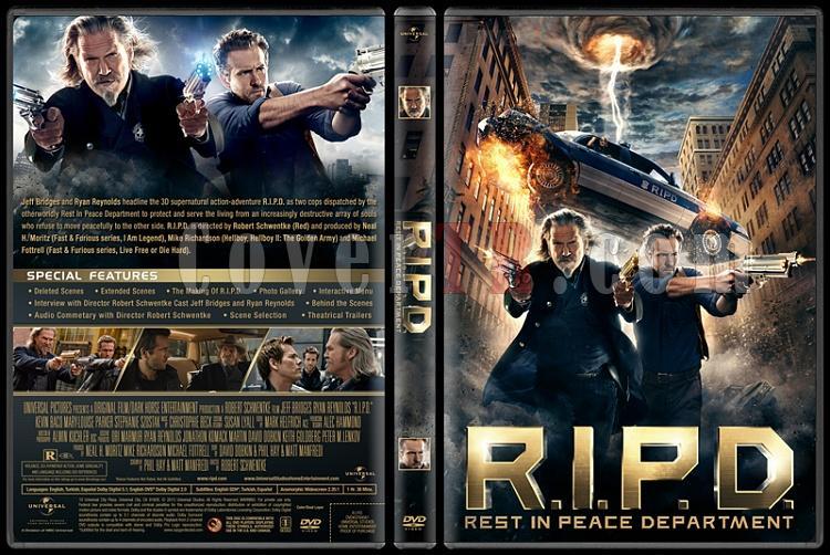 R.I.P.D. (Ölümsüz Polisler) - Custom Dvd Cover - English [2013]-engjpg