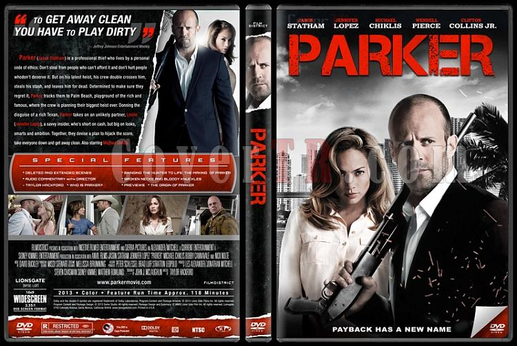 Parker - Custom Dvd Cover - English [2013]-parker-izlemejpg