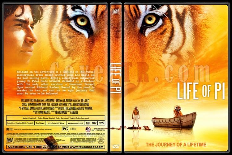 Life of Pi (Pi'nin Yaşamı) - Custom Dvd Cover - English [2012]-life-pi-ctr-v2jpg