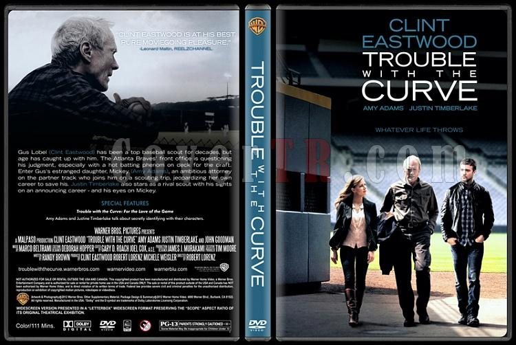 Trouble with the Curve (Hayatımın Atışı) - Custom Dvd Cover - English [2012]-trouble-curve-ctrjpg