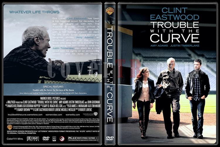 Trouble with the Curve (Hayatımın Atışı) - Custom Dvd Cover - English [2012]-trouble-curve-ctr-v2jpg