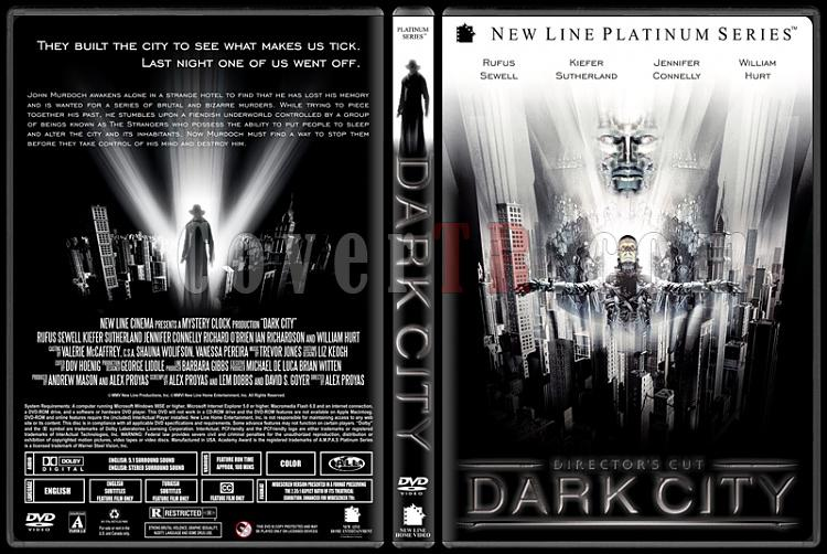Dark City (Karanlık Şehir) - Custom Dvd Cover - English [1998]-dark-city-ctrjpg