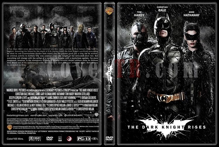 The Dark Knight Rises (Kara Şövalye Yükseliyor) - Custom Dvd Cover - English [2012]-dark-knight-rises-ctrjpg