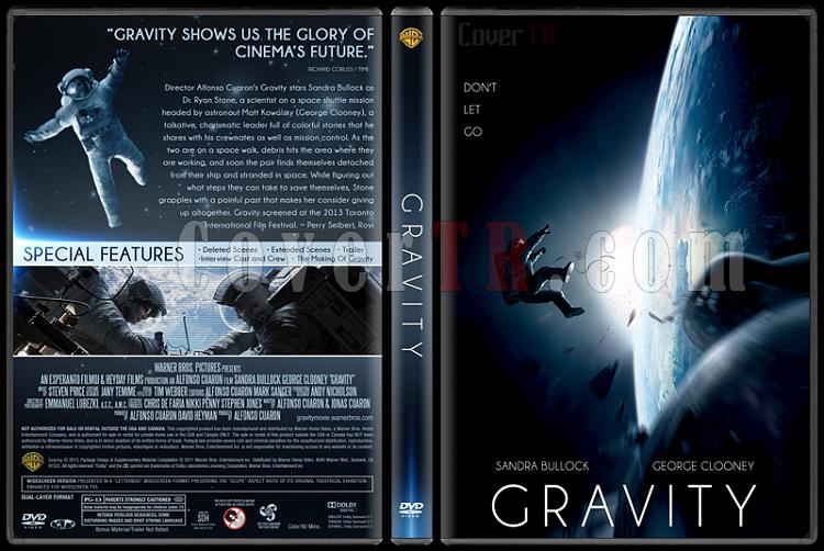 Gravity (Yer Çekimi) - Custom Dvd Cover - English [2013]-gravity-yercekimi-dvd-cover-english-izlemejpg
