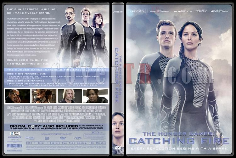 The Hunger Games: Catching Fire (Açlık Oyunları: Ateşi Yakalamak) - Custom Dvd Cover - English [2013]-hunger-games-catching-fire-aclik-oyunlari-atesi-yakalamak-dvd-cover-english-izlemejpg