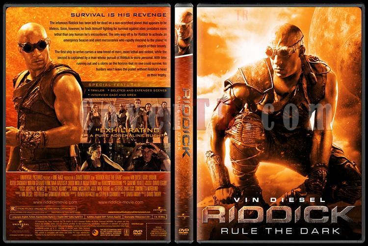 Riddick: Rule The Dark - Custom Dvd Cover - English [2013]-riddick-izlemejpg