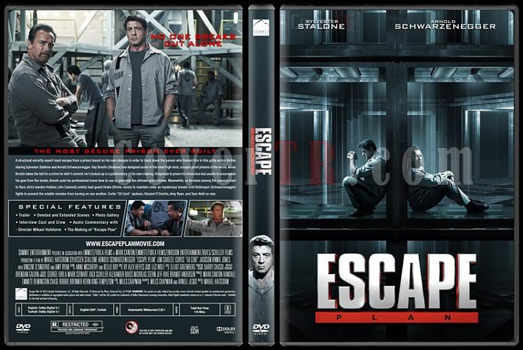 Escape Plan (Kaçış Planı) - Custom Dvd Cover - English [2013]-izleoejpg