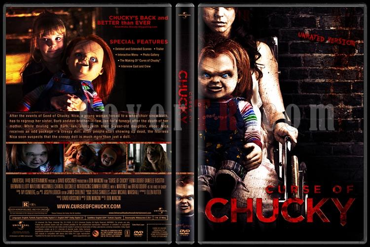 Curse of Chucky (Chucky'nin Laneti) - Custom Dvd Cover - English [2013]-curse-chucky-chuckynin-laneti-dvd-cover-english-izlemejpg