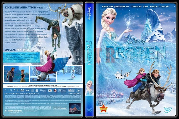 Frozen (Karlar Ülkesi) - Custom Dvd Cover - English [2013]-engjpg