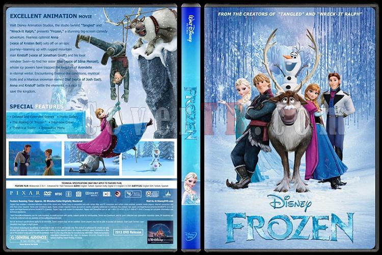 Frozen (Karlar Ülkesi) - Custom Dvd Cover - English [2013]-engjpg
